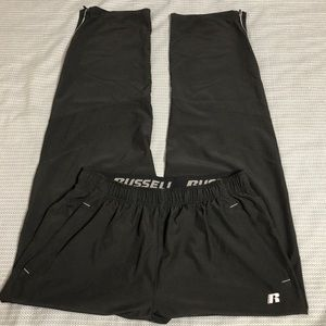Russell Athletic Black Pants Size Medium 32-34